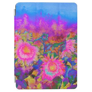 De zonne gebieden van de Zonnebloem - roze iPad Air Cover