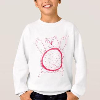 De zonnebloem draagt het Sweatshirt van Kinderen