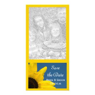 De zonnebloem en het Blauwe Huwelijk van de Hemel Kaart