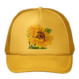 De Zonnebloem van de hoed Mesh Petten
