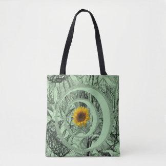 de zonnebloemen van de bolsazak draagtas