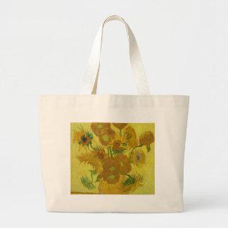 De Zonnebloemen van Vincent van Gogh - Klassieke Grote Draagtas