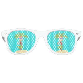 De zonnebril van de Palm van Hula