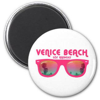 De zonnebril van het Strand van Venetië Magneten