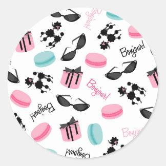 De Zonnebril van Macarons & de Sticker van de