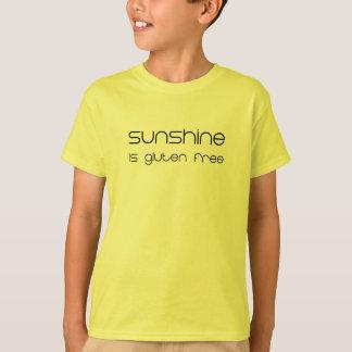 De zonneschijn is Vrij Gluten T Shirt