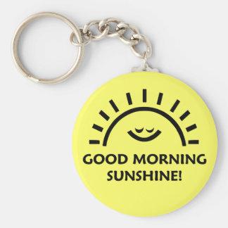 De Zonneschijn van de goedemorgen Sleutelhanger