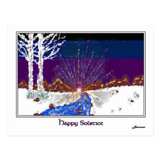 De Zonnestilstand van de winter Briefkaart