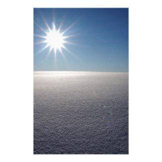 De Zonnestilstand van de winter Briefpapier