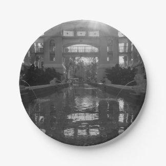 De Zonnestraal Grayscale van Coronado Papieren Bordje