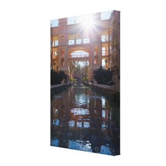 De Zonnestraal van Coronado Canvas Print
