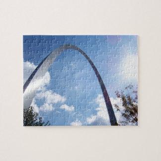 De Zonnestraal van de Boog van St.Louis Legpuzzel