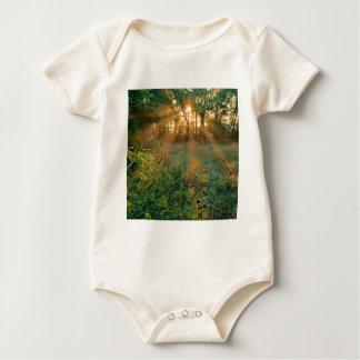 De Zonnestralen Nashville van de zonsopgang Baby Shirt