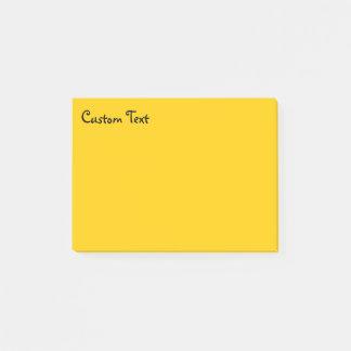 De zonnige Gele Tekst van de Hoek van | Post-it® Notes