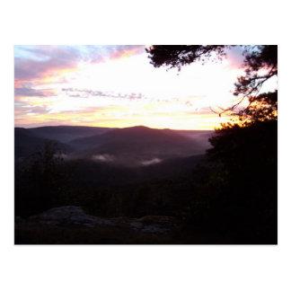 De Zonsondergang van Arkansas Briefkaart