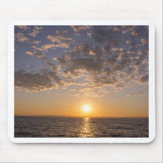 De zonsondergang van Baikal Muismat