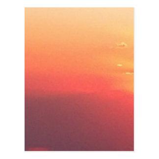 De Zonsondergang van Colorado Briefkaart