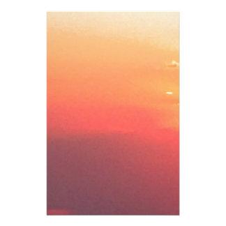 De Zonsondergang van Colorado Briefpapier