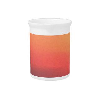 De Zonsondergang van Colorado Drank Pitcher