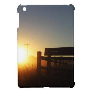 De Zonsondergang van de Herfst van de Oogst van de iPad Mini Hoesjes
