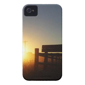 De Zonsondergang van de Herfst van de Oogst van de iPhone 4 Hoesje