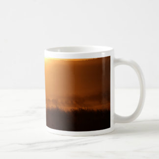 De Zonsondergang van de Herfst van de Oogst van de Koffiemok