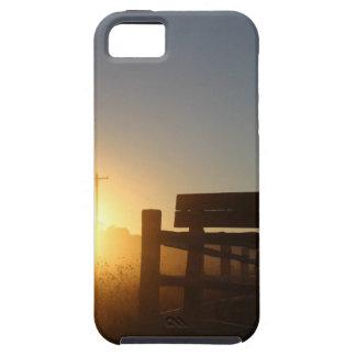 De Zonsondergang van de Herfst van de Oogst van de Tough iPhone 5 Hoesje
