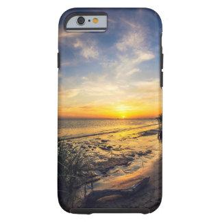 De Zonsondergang van de Kust van de golf Tough iPhone 6 Hoesje
