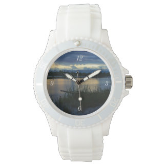 De Zonsondergang van de Middernacht van Denali Horloge