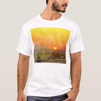 De Zonsondergang van de orchidee T Shirt