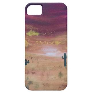 De Zonsondergang van de woestijn Barely There iPhone 5 Hoesje