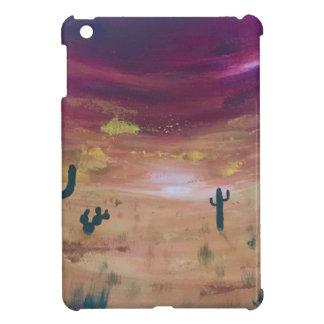 De Zonsondergang van de woestijn iPad Mini Hoesje