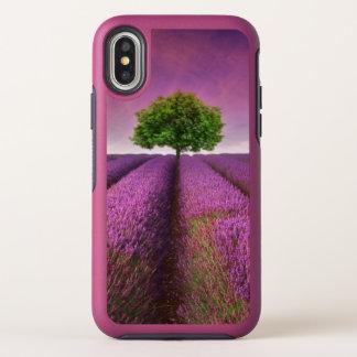 De Zonsondergang van de Zomer van het Landschap OtterBox Symmetry iPhone X Hoesje