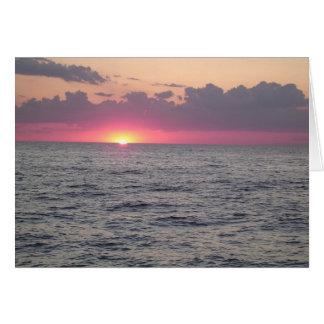 De Zonsondergang van Erie van het meer - Euclid, Kaart