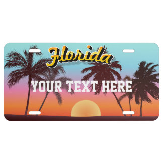 De Zonsondergang van Florida Nummerplaat