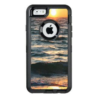De Zonsondergang van het Strand van de zomer OtterBox Defender iPhone Hoesje