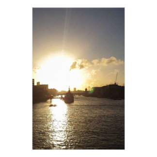 De Zonsondergang van Londen Briefpapier