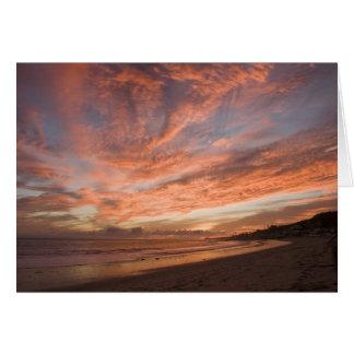 De Zonsondergang van Malibu Kaart