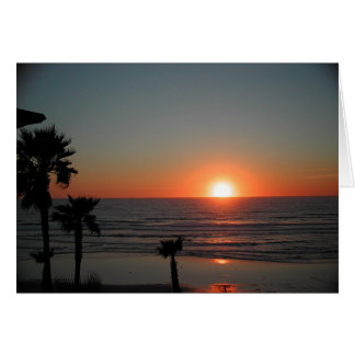 De Zonsondergang van San Diego bij Vreedzaam Kaart