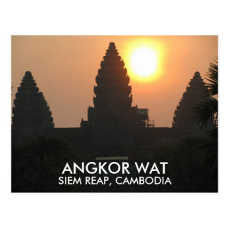 De Zonsopgang Siem van de Tempel van Wat van Briefkaart