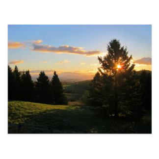 De Zonsopgang van Vermont Briefkaart