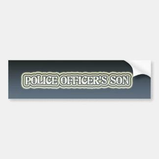 De Zoon van de politieman Bumpersticker
