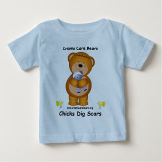 De Zorg van Cranio draagt - de Kuikens graven Baby T Shirts
