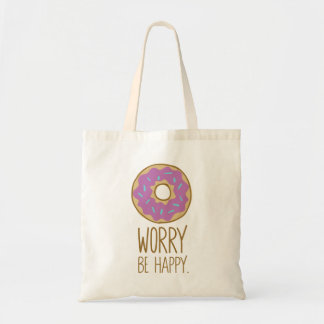 De Zorg van de doughnut, is de Gelukkige Humor van Draagtas