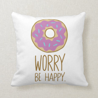 De Zorg van de doughnut, is de Gelukkige Humor van Sierkussen
