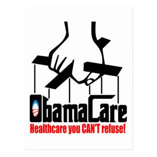 De Zorg van Obama: De gezondheidszorg u kan niet Briefkaart