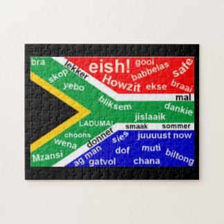 De Zuidafrikaanse Puzzel van het Jargon Puzzel