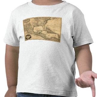 De zuidelijke Kaart van Verenigde Staten en van Mi T Shirt
