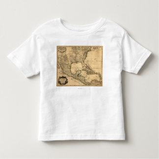 De zuidelijke Kaart van Verenigde Staten en van T-shirt