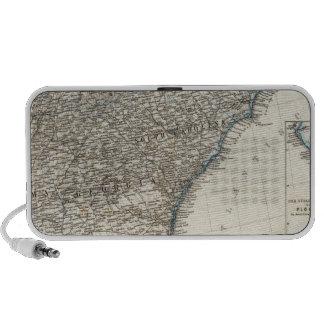 De Zuidelijke Staten van de Verenigde Staten van A Laptop Speakers